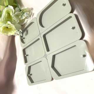 シリコンモールド  3種類  アロマワックス  サシェ 型抜き ハンドメイド用(型紙/パターン)