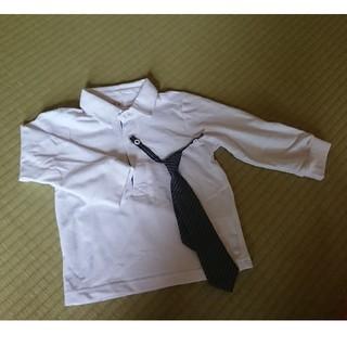 ニシマツヤ(西松屋)のポロシャツ ネクタイ付(ドレス/フォーマル)