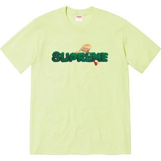 シュプリーム(Supreme)の【L】supreme Lizard Tee Pale Mint(Tシャツ/カットソー(半袖/袖なし))