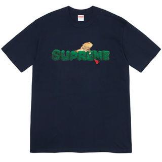 シュプリーム(Supreme)のsupreme Lizard Tee 紺 Navy XLサイズ(Tシャツ/カットソー(半袖/袖なし))