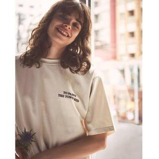 Mila Owen - Mila Owen  サイドスリットビックTシャツ