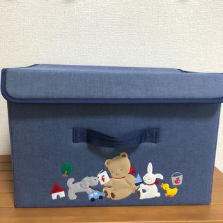 familiar - familiarデニム収納BOX ファミちゃん柄