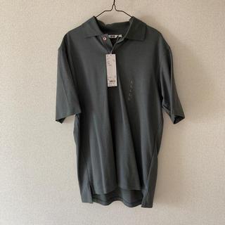 ユニクロ(UNIQLO)のユニクロ U スーピマコットン ポロシャツ メンズ L(ポロシャツ)