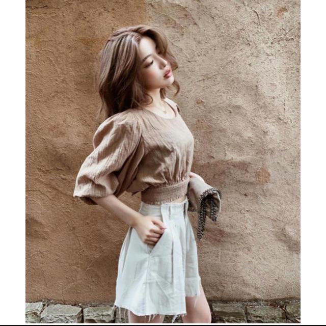 eimy istoire(エイミーイストワール)の激レア♡Darichダーリッチ♡カットオフリネンショートパンツ♡カットオフ レディースのパンツ(ショートパンツ)の商品写真