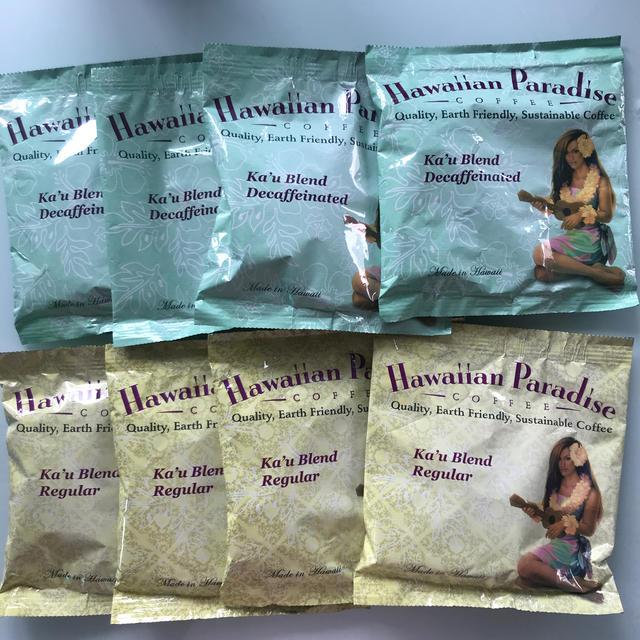 LION(ライオン)のハワイアンパラダイスコーヒー 8袋/ハワイアンコーヒー/珈琲 食品/飲料/酒の飲料(コーヒー)の商品写真