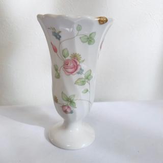 ウェッジウッド(WEDGWOOD)のWEDGWOOD 1980's フラワーベース プティサイズ(花瓶)