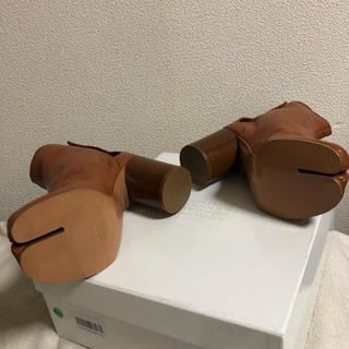 マルタンマルジェラ(Maison Martin Margiela)のチョコ様 専用 マルジェラ ブーツ未使用 38(ブーツ)