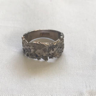 マルタンマルジェラ(Maison Martin Margiela)のビンテージ シルバーリング used(リング(指輪))