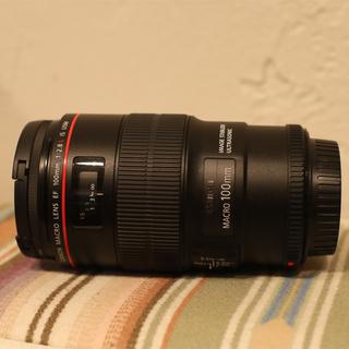 Canon - EF100mm F2.8L マクロ Macro IS USM 三脚座付き
