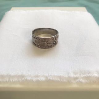 マルタンマルジェラ(Maison Martin Margiela)のシルバー925 ビンテージリング silver925(リング(指輪))