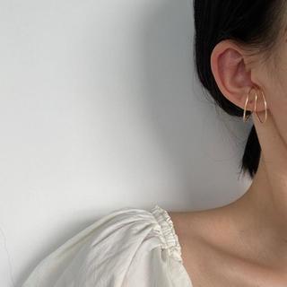 スタイルナンダ(STYLENANDA)の3 hoop ear cuff ᯽(イヤリング)