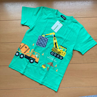 クレードスコープ(kladskap)のクレードスコープ 働く車Tシャツ 120(Tシャツ/カットソー)