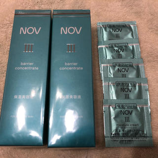 ノブ(NOV)のノブ III  バリアコンセントレイト 美容液(美容液)