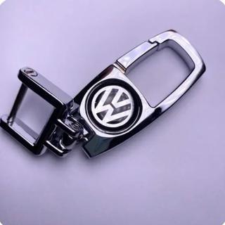 フォルクスワーゲン(Volkswagen)のVW フォルクスワーゲン ロゴ キーホルダー 合金(車内アクセサリ)