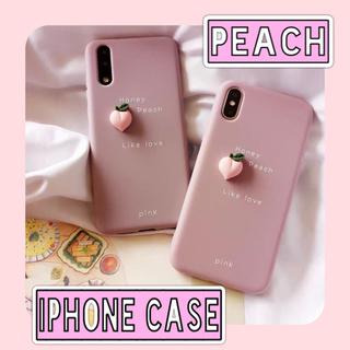 スマホケース くすみカラー くすみピンク iPhoneケース(iPhoneケース)