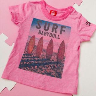 BABYDOLL - 14日まで BABYDOLL Surf シャツ 80サイズ