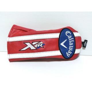 キャロウェイゴルフ(Callaway Golf)のキャロウェイ【XR FW用 レッド】純正ヘッドカバー 新品(その他)