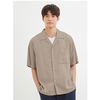 GU - オープンカラーシャツ Mサイズ