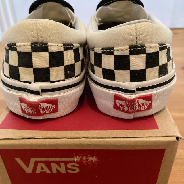 VANS(ヴァンズ)のスリッポン VANS 20センチ キッズ/ベビー/マタニティのベビー靴/シューズ(~14cm)(スリッポン)の商品写真