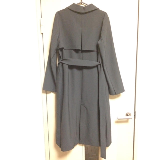 SLY(スライ)のタグ有試着のみ半額以下★SLY 黒コート サイズ2(M) レディースのジャケット/アウター(ロングコート)の商品写真
