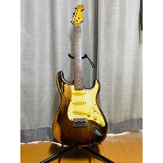 フェンダー(Fender)のレリック コンポーネントギター ストラトキャスター(エレキギター)