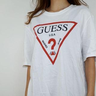ゲス(GUESS)のゲス GUESS Tシャツ デカロゴ(Tシャツ/カットソー(半袖/袖なし))