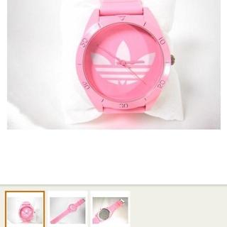 アディダス(adidas)のセール adidas 腕時計 ピンク(腕時計)