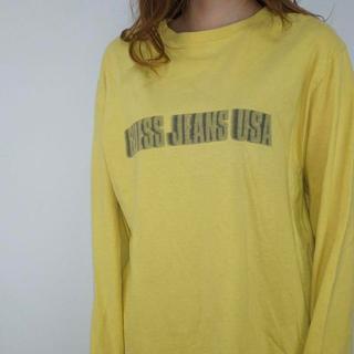 ゲス(GUESS)のゲス GUESS ロンT 90's USA製(Tシャツ/カットソー(七分/長袖))