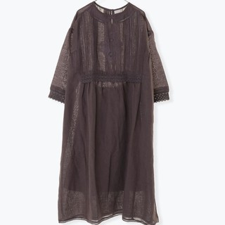 SM2 - 【新品タグ付】THUHARU  衿レース刺繍ワンピース