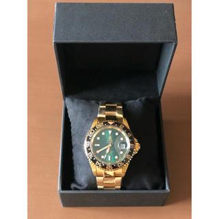 アベイシングエイプ(A BATHING APE)のBAPE Bapex type 2 ゴールド(腕時計(アナログ))