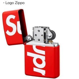 シュプリーム(Supreme)のSupreme Logo Zippo 赤 ジッポ(タバコグッズ)