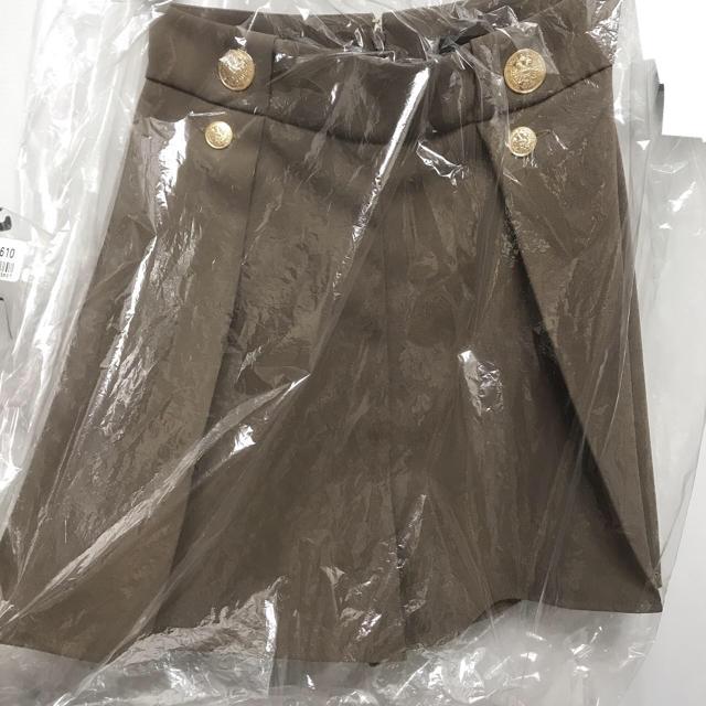Alice+Olivia(アリスアンドオリビア)の新品未使用タグ付き☆エリザベッタフランキ ショートパンツ カーキー レディースのパンツ(ショートパンツ)の商品写真