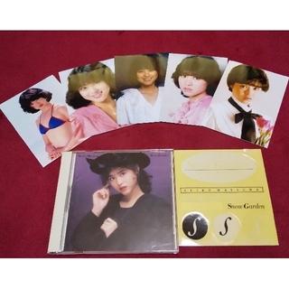 ソニー(SONY)の松田聖子CD『Snow Garden』スノーガーデン★特典ステッカー+フォト付き(ポップス/ロック(邦楽))