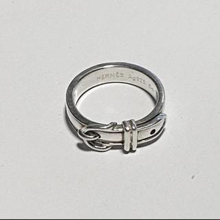 エルメス(Hermes)のエルメス シルバー サンチュール ベルトリング(リング(指輪))