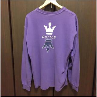 バートン(BURTON)の【稀少‼️】90's BURTON ロンT ビンデージ(Tシャツ/カットソー(七分/長袖))