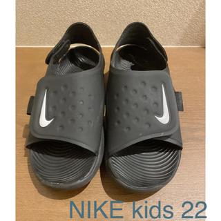 ナイキ(NIKE)のNIKE kidsサンダル size  22(サンダル)