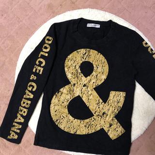ドルチェアンドガッバーナ(DOLCE&GABBANA)のドルチェアンドガッパーナ  インパクト クラッシュロゴロンT(Tシャツ(長袖/七分))