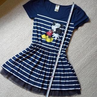 ディズニー(Disney)のミッキー ワンピース (ミニワンピース)