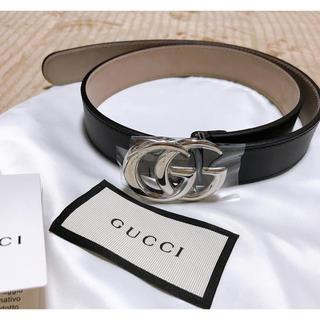 グッチ(Gucci)のグッチ GUCCI 大人もOK キッズベルト ダブルG レザーベルト キッズ(ベルト)