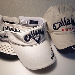 キャロウェイ(Callaway)のCallawey キャロウェイ バイザー 2点オマケ付(その他)