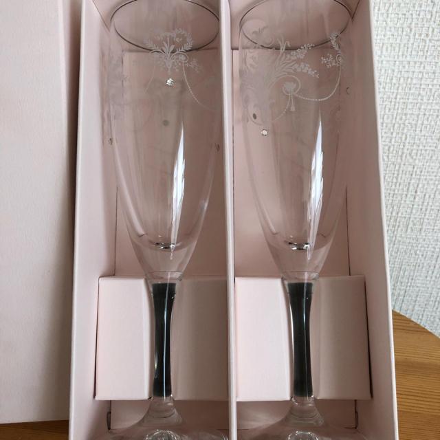 LAURA ASHLEY(ローラアシュレイ)のローラアシュレイ ペアグラス インテリア/住まい/日用品のキッチン/食器(グラス/カップ)の商品写真