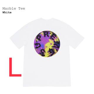 シュプリーム(Supreme)のSupreme Marble Tee マーブル(Tシャツ/カットソー(半袖/袖なし))