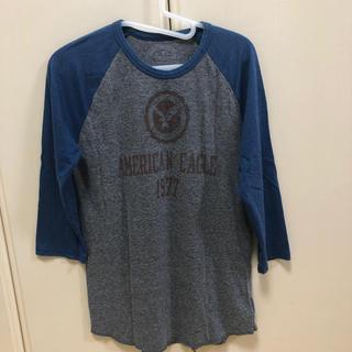 アメリカンイーグル(American Eagle)のメンズ 7分丈Tシャツ (Tシャツ/カットソー(七分/長袖))