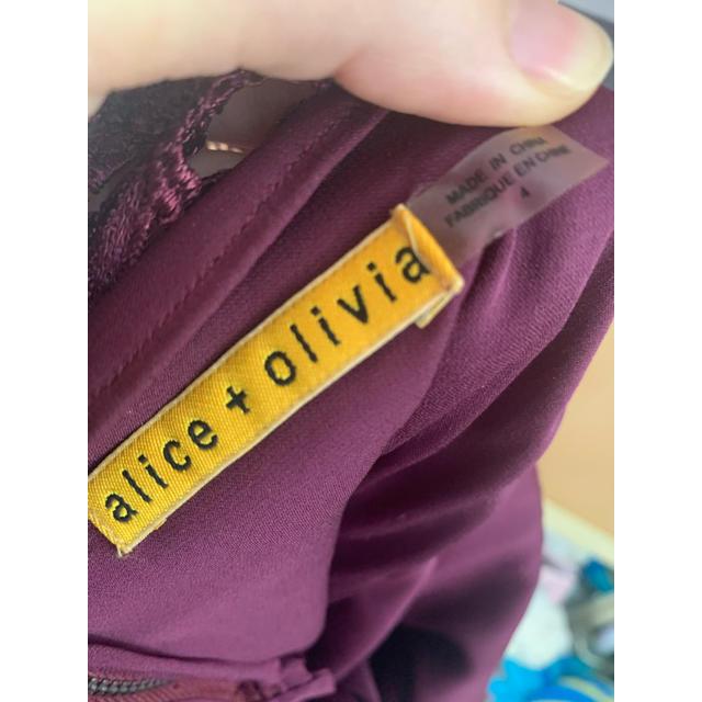 Alice+Olivia(アリスアンドオリビア)のalice +olivia ドレス レディースのワンピース(ひざ丈ワンピース)の商品写真