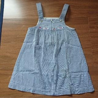 ファミリア(familiar)のfamiliar ジャンパースカート 100cm(スカート)