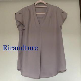Rirandture - リランドチュール 洗えるとろみブラウス