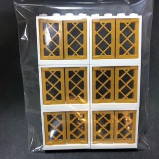 Lego - 【新品未使用】レゴ LEGO 1×4×3 ホワイト×パールゴールド