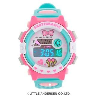 EARTHMAGIC - アースマジック デジタルウォッチ  腕時計