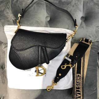 Christian Dior - Dior サドルバック 黒