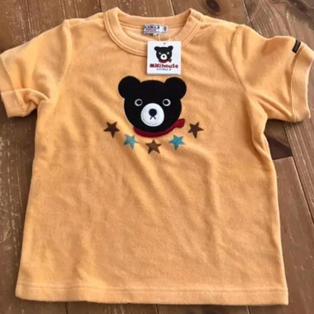 DOUBLE.B(ダブルビー)の未使用 ミキハウス ダブルビー 半袖Tシャツ 110 キッズ/ベビー/マタニティのキッズ服男の子用(90cm~)(Tシャツ/カットソー)の商品写真